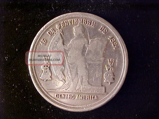 Honduras One Peso 1885 North & Central America photo