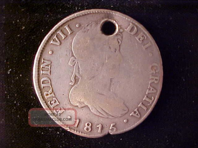 Guatemala 8 Reales 8 Reales 1815m North & Central America photo