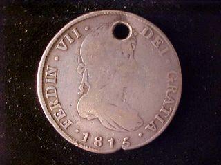 Guatemala 8 Reales 8 Reales 1815m photo