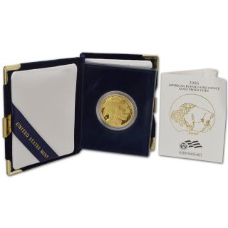 2006 - W American Gold Buffalo Proof (1 Oz) $50 Coin - With A Bonus photo