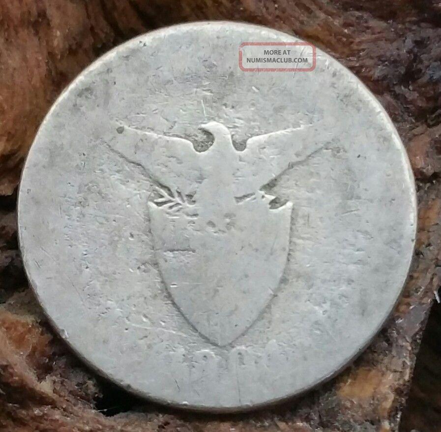 1904 P U.  S.  Philippines 5 Centavos Coin U.S. (1898-1946) photo