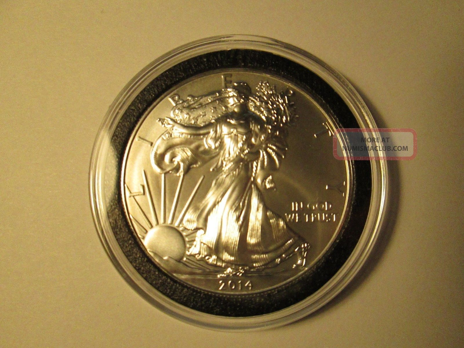 2014 Silver American Eagle Uncirculated 1 Oz 999 Fine