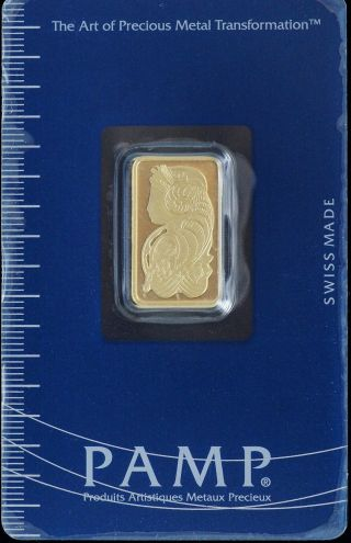 Pamp Suisse Swiss Gold Bar 5 Grams 999.  9 Fine Certified Essayeur Fondeur 04521 photo