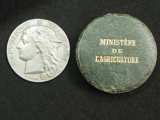 France,  French Silver Medal By H.  Ponscarme
