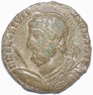 Roman Bronze Coin Follis Julian The Apostate Vot X Mult Xx Rome Ae19 3,  28g photo