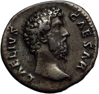 Aelius Caesar Hadrian Successor Rare 137ad Rome Ancient Silver Roman Coin I60675 photo