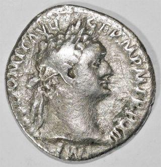Domitian Denarius photo