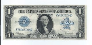 Series 1923 $1 One Dollar Silver Certificate Large Size Note Very photo