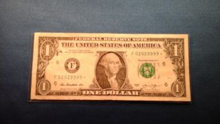 $1 Dollar Star Note Trinary/repeater/1/2 Double 1/2 Quad photo