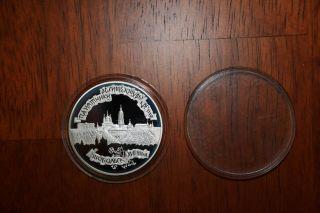 Silver Coin,  Russian Federation 1996 Kremlin Of Tobolsk photo