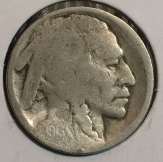 1913 - S Type 2 Rare Buffalo Nickel Variety Two Key Date Ii Acid Treated 5 Cents photo