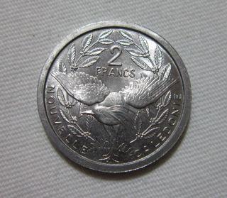 French Caledonia.  2 Francs,  1949. photo