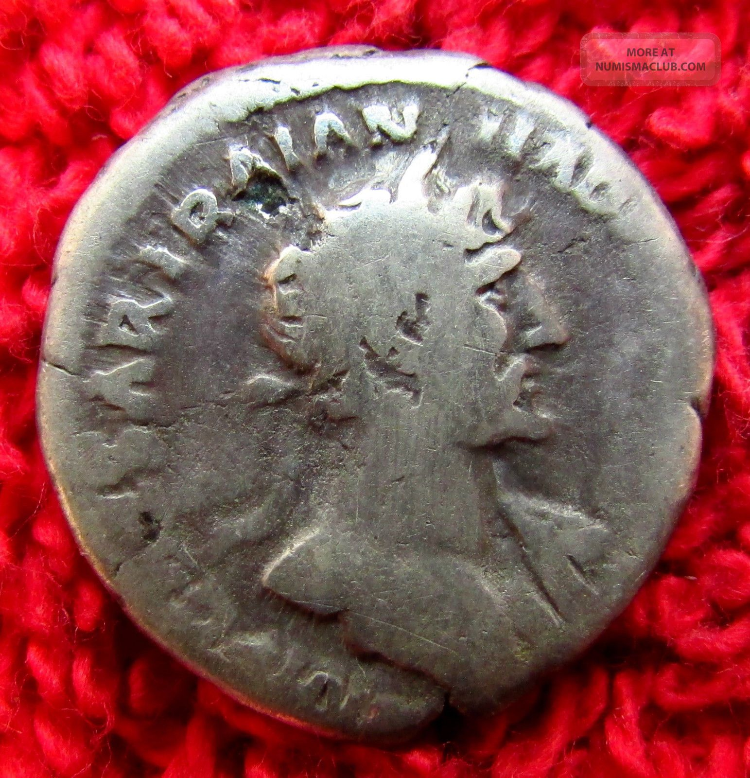 Stunning Roman Ar Denarius Hadrian 117 - 138 Ad (918 -) Coins: Ancient photo