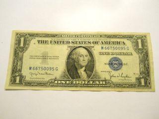 1935d $1.  00 U.  S.  Silver Certificate photo