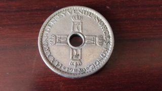 Norway 1939,  1 Krone photo