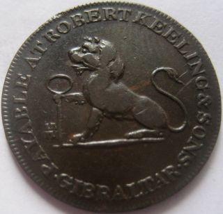 Gibraltar 1 Cuarto 1810