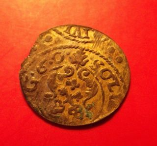 Sweden Livonia 1660 Carl X Gustavus Riga Schilling Solidus Medieval Silver Coin photo