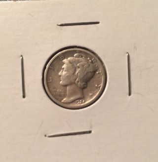 1924 S Mercury Dime 90 Silver Coin photo