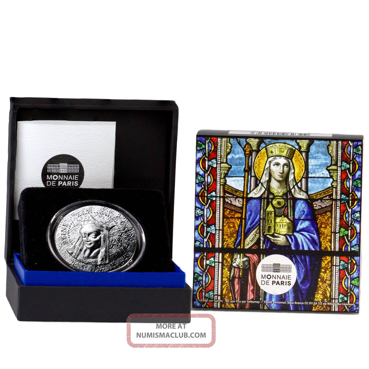 2016 France 10e Proof Silver Women Of France Queen Reine Clotilde Ogp Sku43380 Europe photo