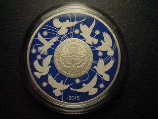 2015 Kyrgyzstan 10 Som 70 Years Victory 2 Nd World War Russia Rare photo