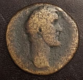 Antoninus Pius Ancient Roman Ae Sestertius 24.  61g S - C photo