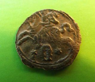 Poland Lithuania 1621 2 Denar Sigismund Iii Medieval Silver Coin Km 34 Krakow photo