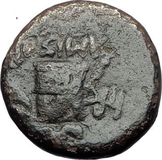 Amisos Pontus 100bc - Mithradates Vi The Great Time - Dionysus Greek Coin I61082 photo