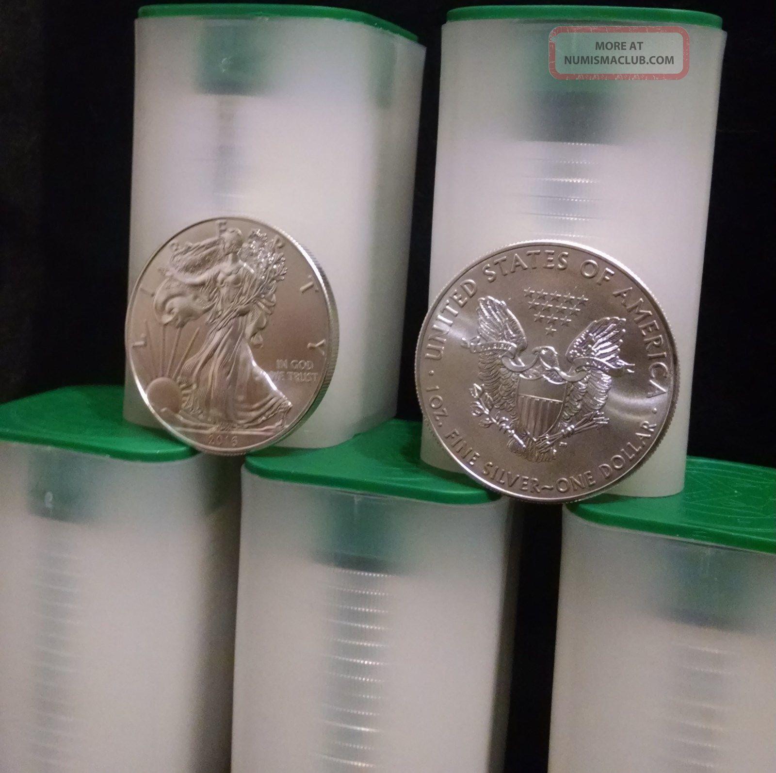 1 Oz Fine Silver One Dollar 2001