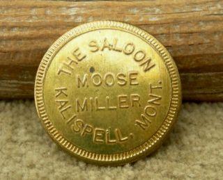 Old Kalispell Montana Mt (flathead Co)