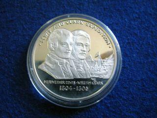 1804 - 1806 Lewis & Clark Silver Proof - U S photo