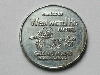 Westward Ho Motel Grand Forks North Dakota Good Luck Horseshoe Token Coin Nd Inn photo