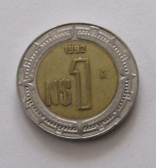 Mexico Peso 1992 photo