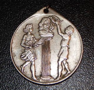 1652 - 1952 Cape Town South Africa Tercentenary Jan Van Riebeeck Medal Badge Coin photo