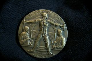 Ernest H Starling Physiologist Medallic Art Co Bronze Medal photo