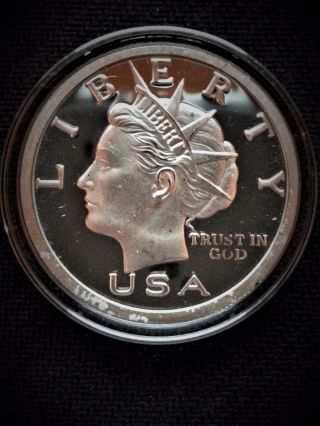2006 - $20 Norfed - 1 - Oz -.  999 Silver 20 Dollar - Missouri - Error Coin photo