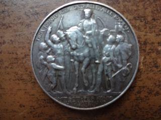 1913 Prussia Deutsches Reich Napoleon Zwei Mark Silver Coin - Revised photo