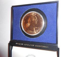 1972 American Revolution Bicentennial Commemorative Sons Of Liberty Bronze Medal photo