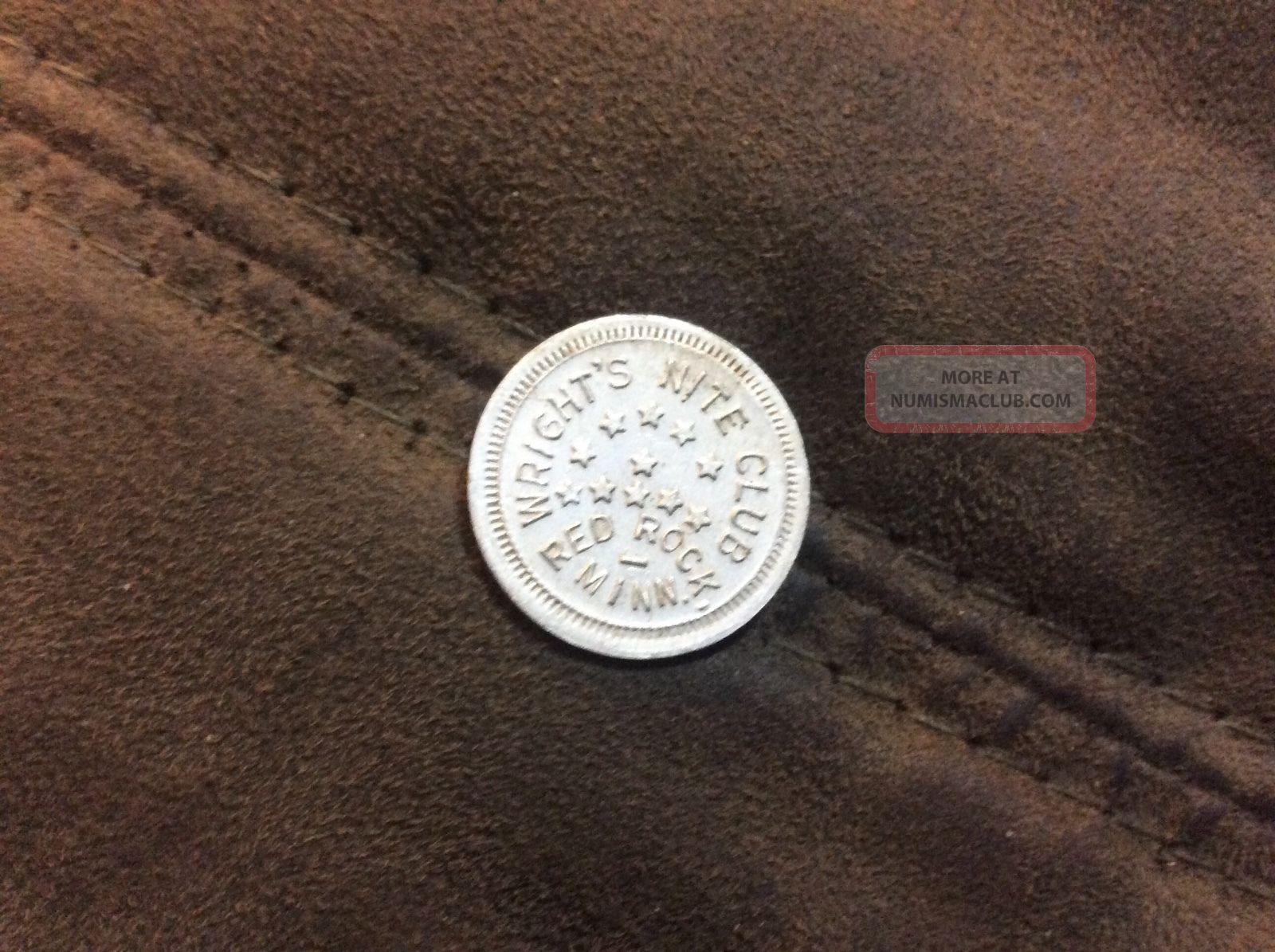 Rare Red Rock Minnesota Trade Token Minn,  Mn Exonumia photo
