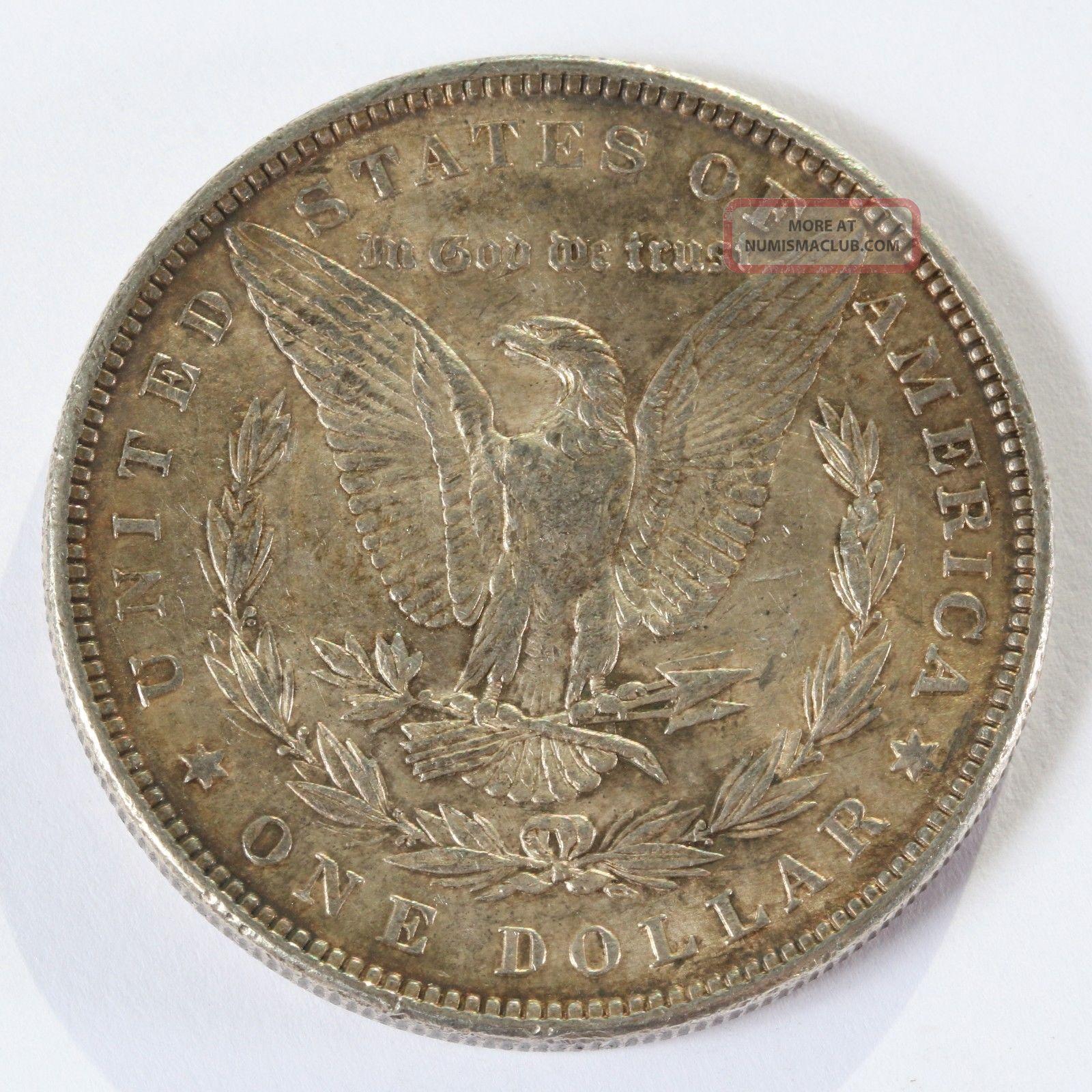 1882 P Morgan Silver Dollar 1 Silver Coin D735