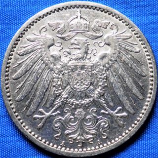 Germany 1 Mark 1905 A,  Silver Coin photo