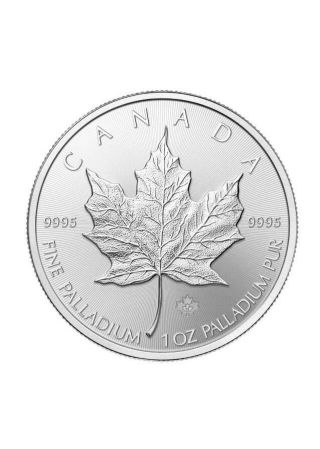2009 Palladium Maple Leaf Of Canada $50 photo