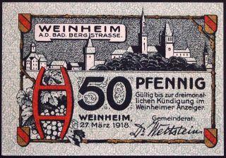 Weinheim 1918