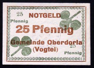 Oberdorla 1918