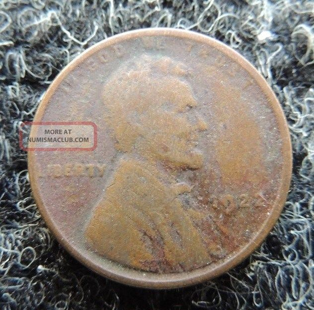 1922 - D Lincoln Cent { Very Weak