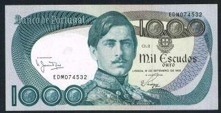 Portugal 1.  000$00 De 1980 Unc photo