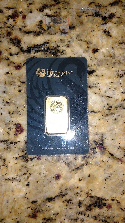 20 Gram Perth Gold Bar Gold photo