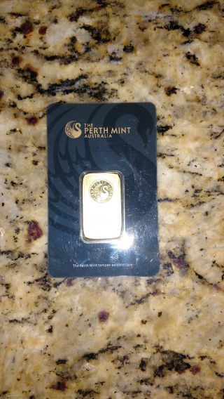 20 Gram Perth Gold Bar photo