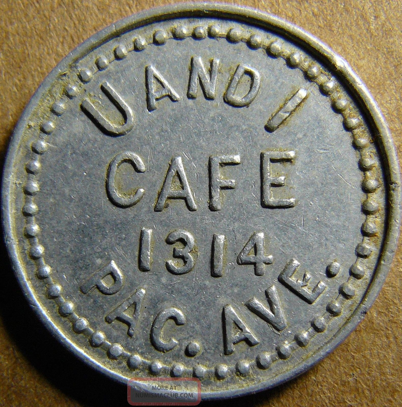 Tacoma Washington U And I Cafe 5c Good For Token Exonumia photo