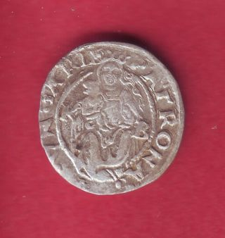 R Hungary Silver Denar 1552 Kb Ferdinand I 1526 - 1564 Xf,  Details photo
