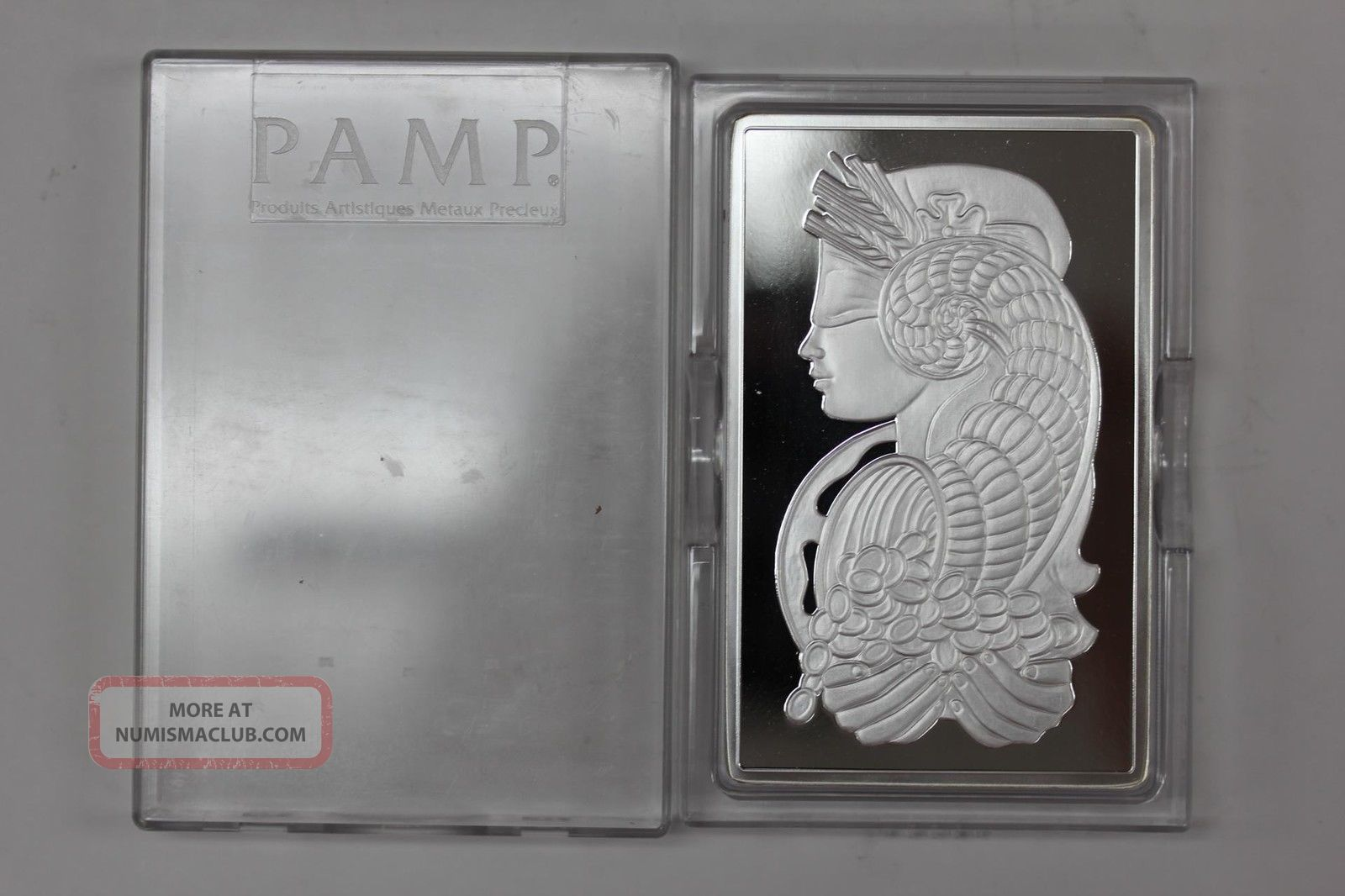 10 Oz Ounce Pamp Suisse 999 Fine Silver Bar Fortuna